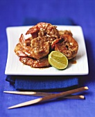Shrimp curry (Singapore)