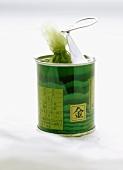 Wasabi in the tin