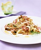 Fennel with red onions and walnuts