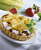 Star fruit tart