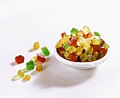 Candied fruit mixture