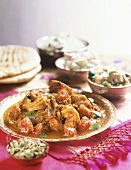 Sweet and sour prawn curry (hot)