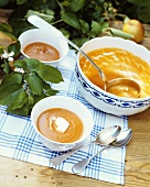 Apple and carrot soup