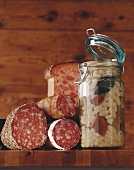Cassoulet and charcuterie (France)