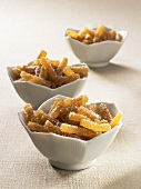 Candied ginger sticks