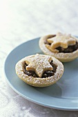 Mincemeat tarts with pastry stars