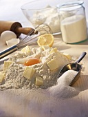 Ingredients for sweet pastry