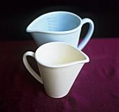 Two measuring jugs