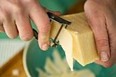 Shaving Parmesan