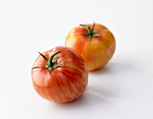 Two Tiger tomatoes