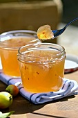 Crab-apple jelly with chili