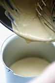 Tiramisu ice cream: coffee mascarpone cream