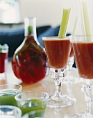 Spicy vegetable cocktails