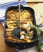 Köthener Schusterpfanne (Pork and pear casserole)