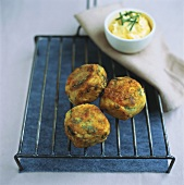 Vegetable balls with herbs