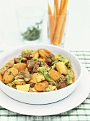 Irish stew (mutton, potato and carrot stew)