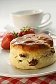 Raisin scone (England)