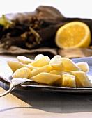 Cooked scorzonera