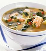 Creole shrimp soup