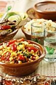 Mexican sweetcorn salad