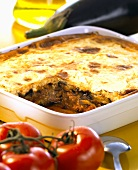 Moussaka (Aubergine and mince dish, Greece)