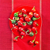 Hungarian cherry peppers