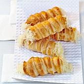 Sajtos roló (Cheese rolls, Hungary)