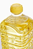 A bottle of cooking oil