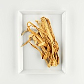 Dried pumpkin strips