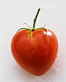 A heart-shaped tomato