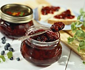 Berry and cherry jam