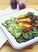 Verdure in marinata (marinated vegetables), Liguria, Italy