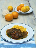Ossobuco alla milanese (Braised slices of shin of veal)