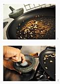 Making garam masala