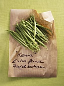 Green beans (French beans)