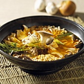 Korean mushroom stew