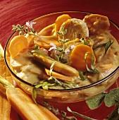 Turkey piccata with sage sauce