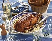 Choucroute de canard (Sauerkraut speciality, Alsace)