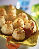 Sweet coconut balls