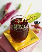 Beetroot juice with fennel