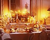 Dessert and drink buffet