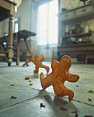 Running gingerbread men