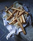 Iced matchsticks