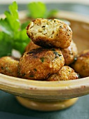 Fish kefta (Middle Eastern finger food)