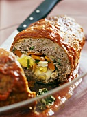 Polpettone (Stuffed meatloaf, Italy)