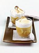 Banoffee pudding (Bananen-Karamell-Creme, England)