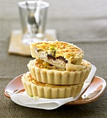 Goat's cheese tarts