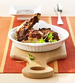 Chicken with Mexican chocolate sauce