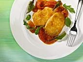 Scaloppine alla milanese (Breaded veal escalopes, Italy)