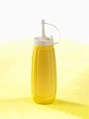 Mustard in a plastic bottle